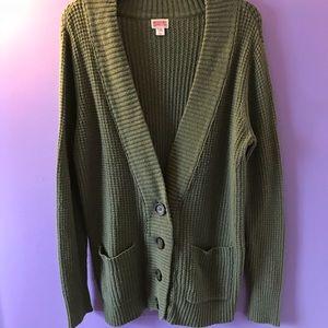 Mossimo Green Sweater.